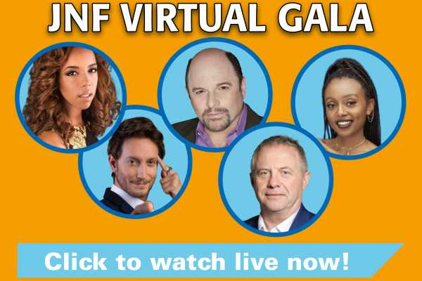 JNF Virtual Gala Link! Click to watch live…